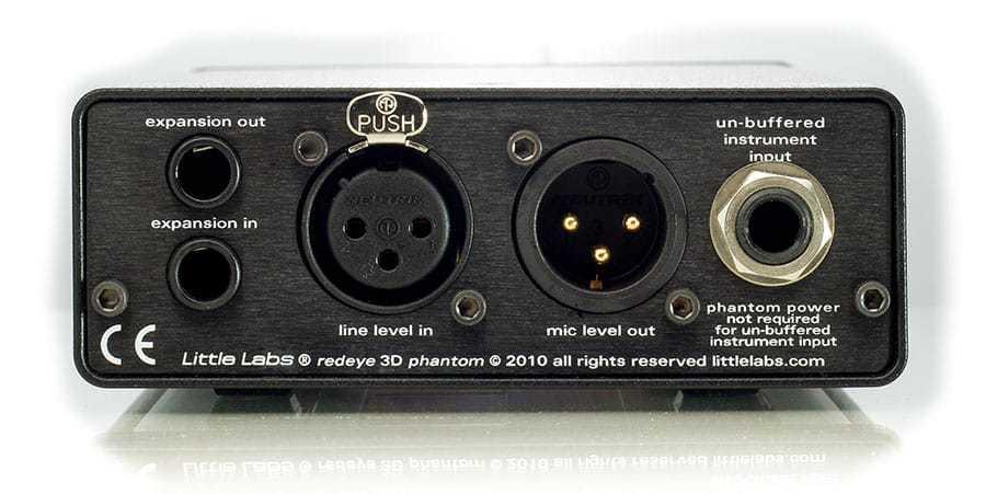 Little Labs Red Eye 3D Phantom - DI / Re-Amp / Splitter
