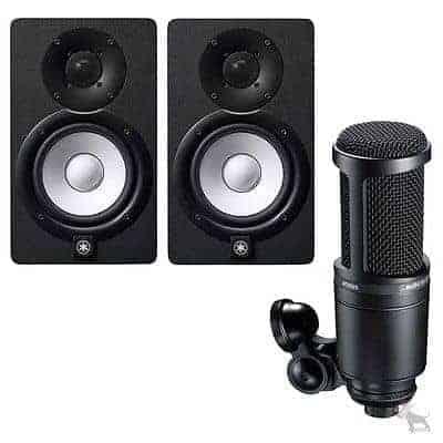 Yamaha HS7 Powered Studio Monitor - Pair