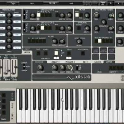 XILS Lab THE SYNTHIX Virtual 16 Voices Analog Synthesizer