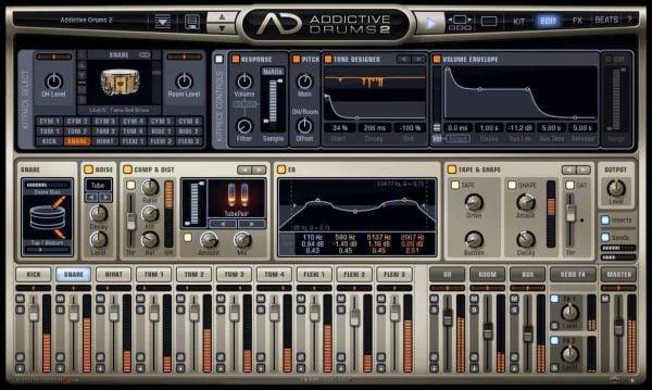XLN Audio Addictive Drums 2 VST, AU, AAX