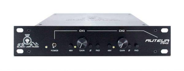 Black Lion Audio BLA Auteur Twin MKII 2-Channel Preamp