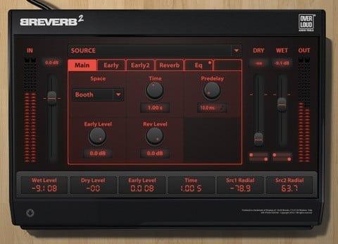 Overloud BreVerb 2 - Reverb Plugin