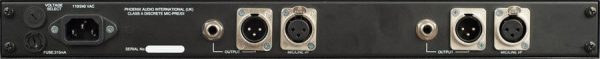 Phoenix Audio DRS 2 Dual Mono Mic Pre Amp DI