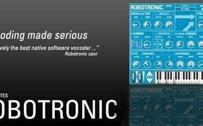 Sugar Bytes Robotronic Superb-sounding Easy-To-Use Vocoder-0