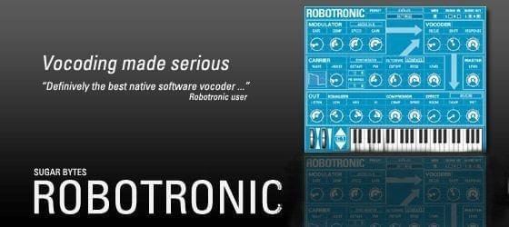 Sugar Bytes Robotronic Superb-sounding Easy-To-Use Vocoder-0