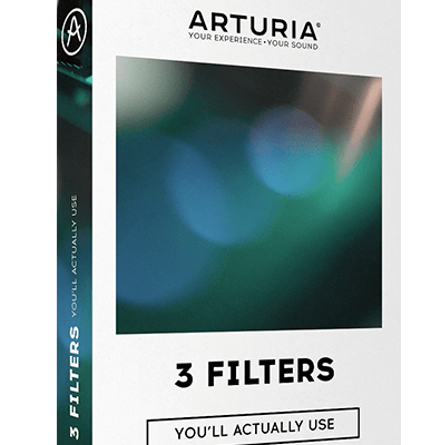 ARTURIA 3 Filters You`ll Actually Use box