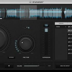 Accusonus Drumatom interface