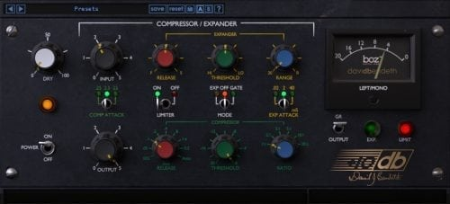 BOZ DIGITAL Boz +10dB Compressor interface
