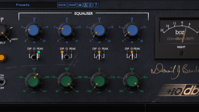 BOZ DIGITAL Boz +10dB Equalizer interface