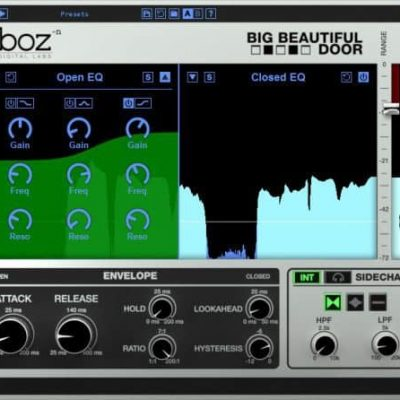 BOZ DIGITAL Boz Big Beautiful Door interface