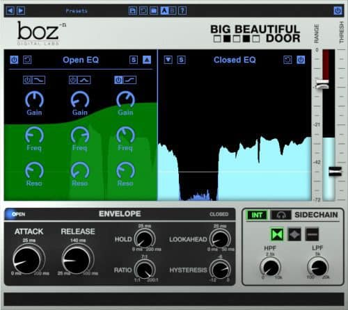 BOZ DIGITAL Boz Big Beautiful Door interface