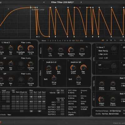 Cableguys Curve 2 interface