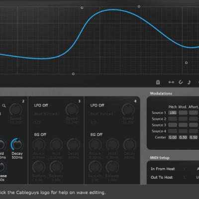 Cableguys MidiShaper interface
