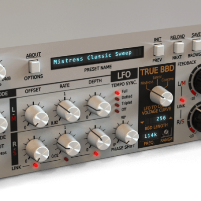 D16 Group Antresol Classic Flanger for Modern Production Photography