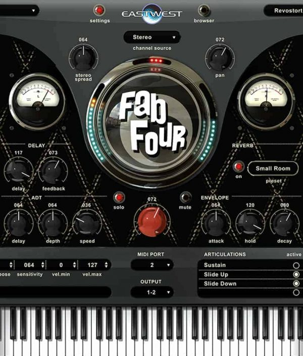 EAST WEST FAB FOUR interface