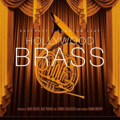 EAST WEST HOLLYWOOD BRASS box