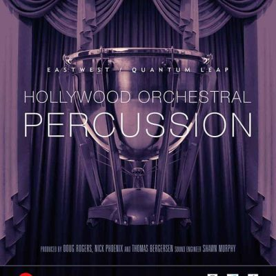 EAST WEST HOLLYWOOD PERCUSSION GOLD Hollywood Orchestral Percussion box