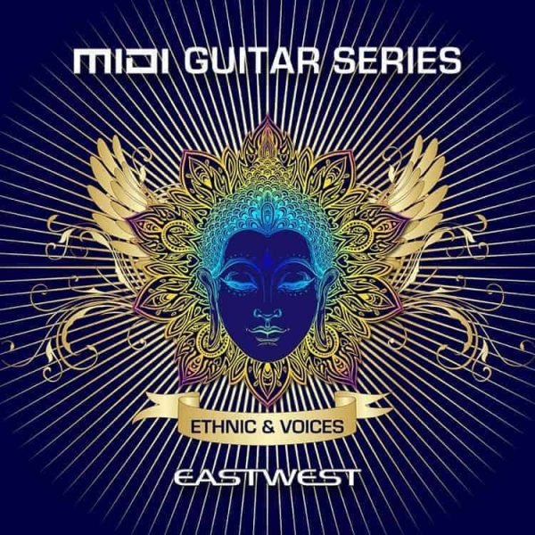 EAST WEST MIDI GUITAR SERIES Vol 2 Ethnic and Voices box