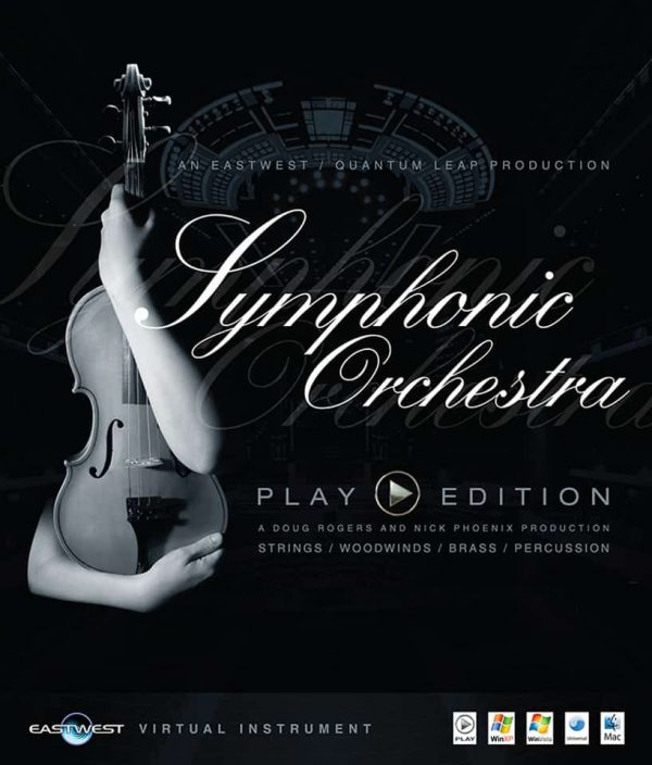 EAST WEST SYMPHONIC ORCHESTRA GOLD box