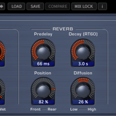Eventide 2016 Stereo Room interface