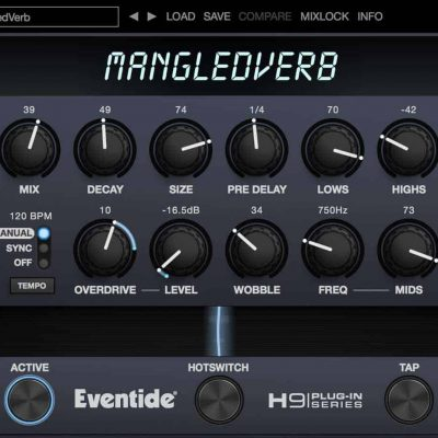 Eventide MangledVerb interface