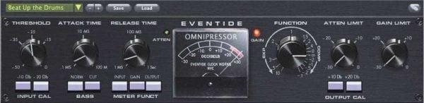 Eventide Omnipressor interface
