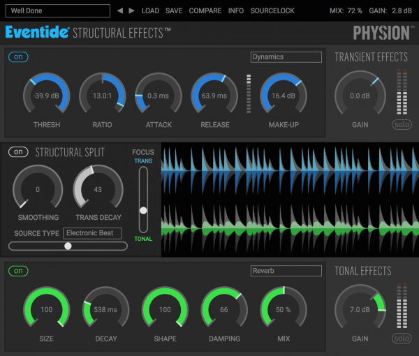 Eventide Physion interface