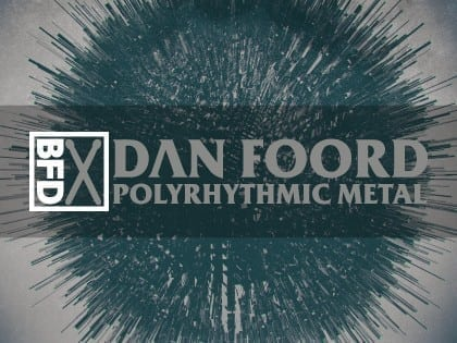 FXpansion BFD Dan Foord Poly Metal box