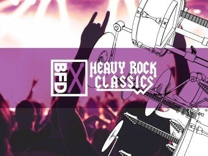 FXpansion BFD Heavy Rock classics box