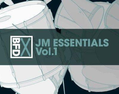 FXpansion BFD JM Essentials Vol. 1 box