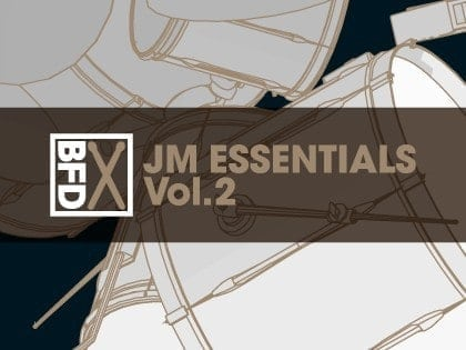 FXpansion BFD JM Essentials Vol. 2 box