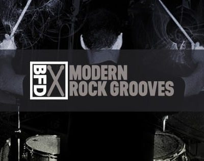 FXpansion BFD Modern Rock Grooves box