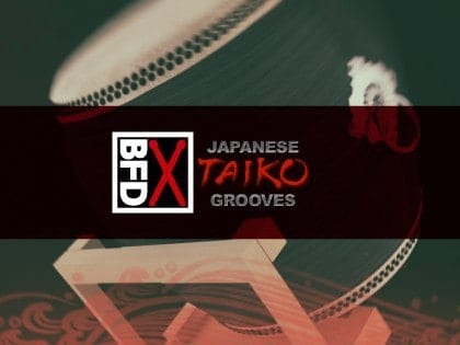 FXpansion BFD Taiko Grooves box