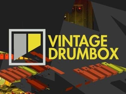 FXpansion Vintage Drumbox banner