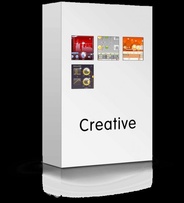 FabFilter Creative Bundle box
