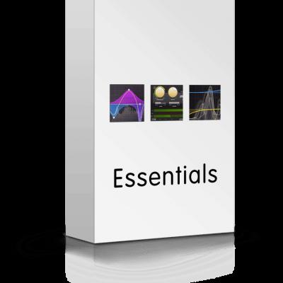 FabFilter Essentials bundle box