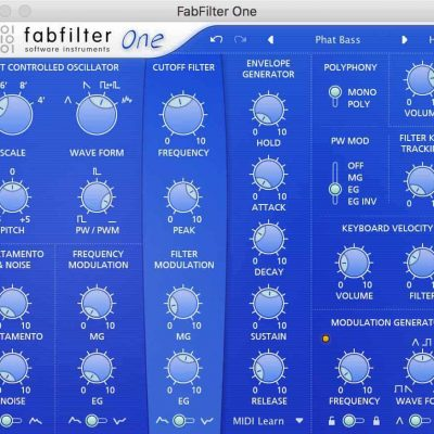 FabFilter One Interface