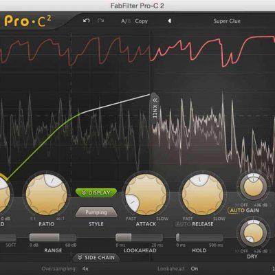 FabFilter Pro-C 2 Interface