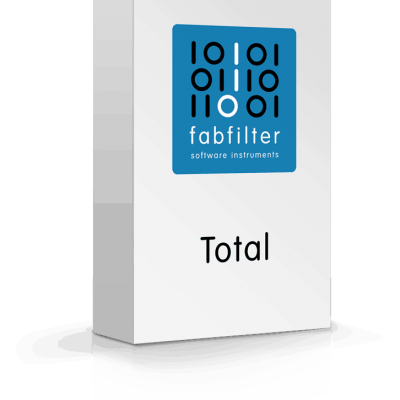 FabFilter Total Bundle Contains 14 plug-ins worth $ 1706 Box
