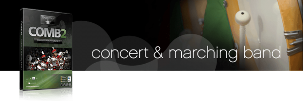 Garritan Concert & Marching Band Superb Band Instrument Sound Collection box