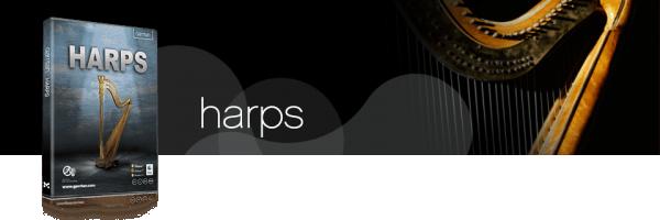 Garritan Harps Sound Library box