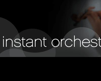Garritan Instant Orchestra Sound Library box