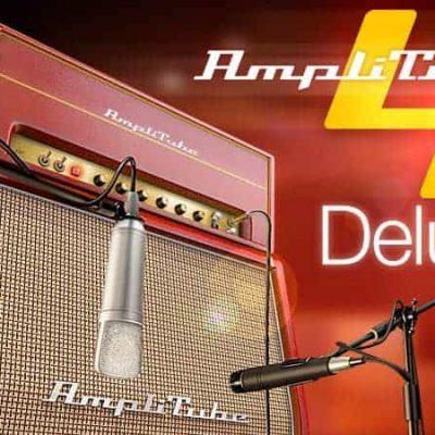 IK MULTIMEDIA AmpliTube 4 DLX banner