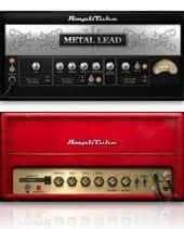 IK MULTIMEDIA Metal Power Duo Bundle AmpliTube 4 + Metal photography collage