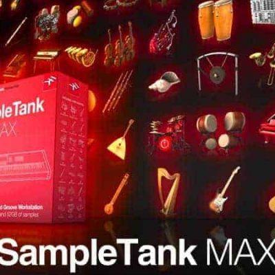 IK MULTIMEDIA SampleTank MAX box