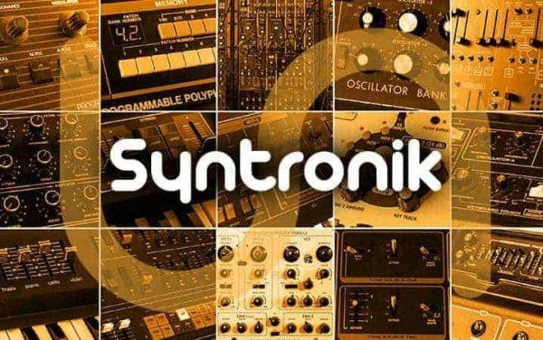 IK MULTIMEDIA Syntronik Full Version Ultimate Synth Workstation Banner