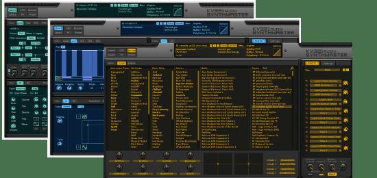KV331 Audio KV SynthM Everything Bund SynthMaster + Expansion Banks Interfaces
