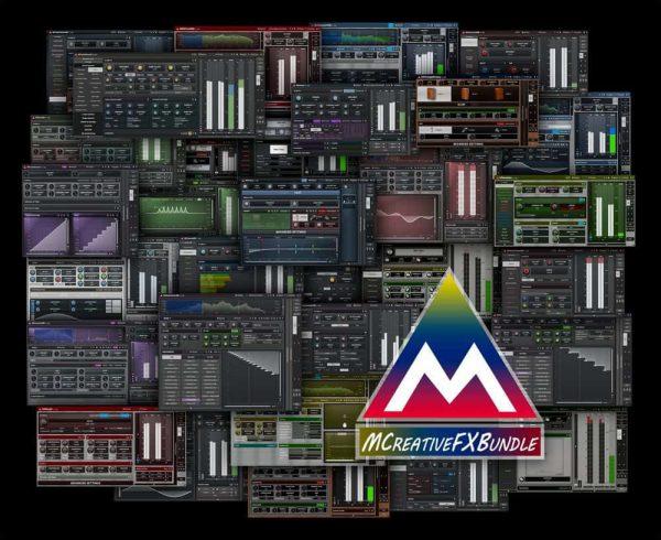 MELDA MCreativeFXBundle interfaces collage