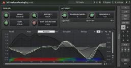 MELDA MFreeformAnalogEq Interface