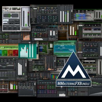 MELDA MMasteringFXBundle interfaces collage